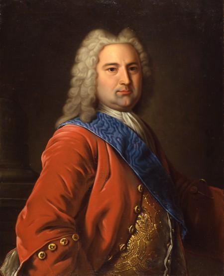 Э.И.Бирон. Неизвестный художник XVIII в.