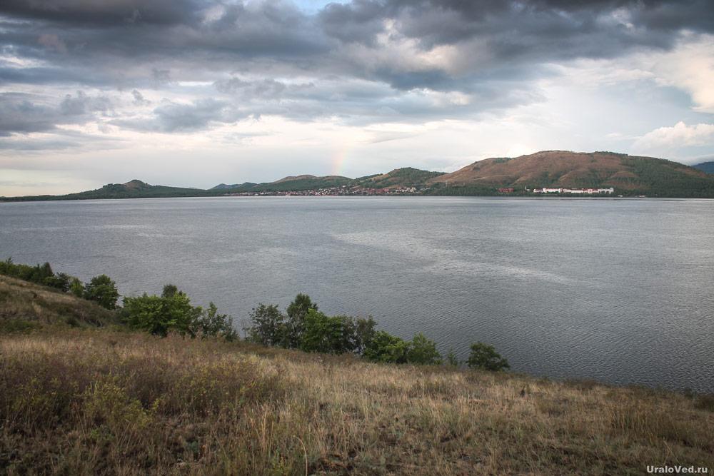 На озере Банном около Магнитогорска