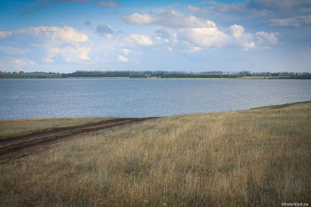 Озеро Мулдаккуль (Солёное, Тозлокуль)