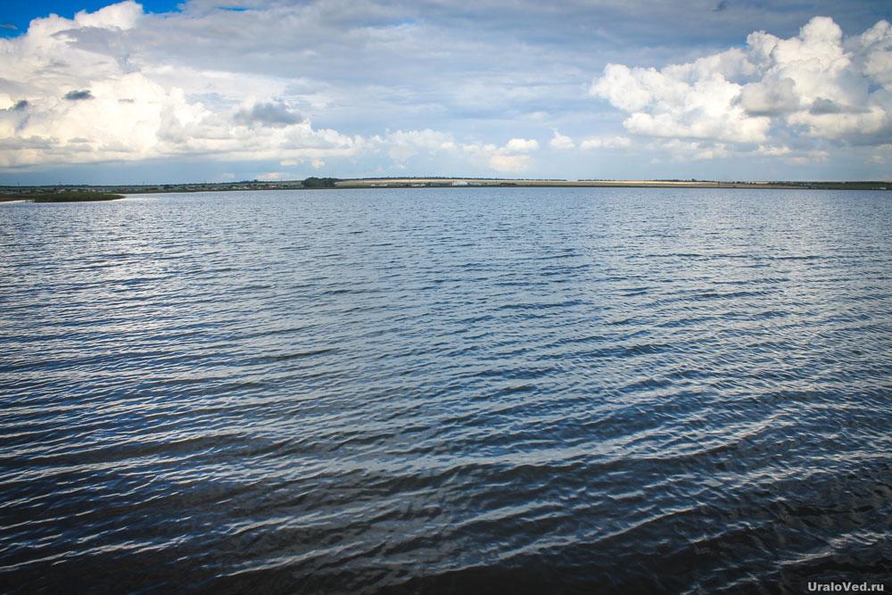 Солёное озеро Мулдаккуль