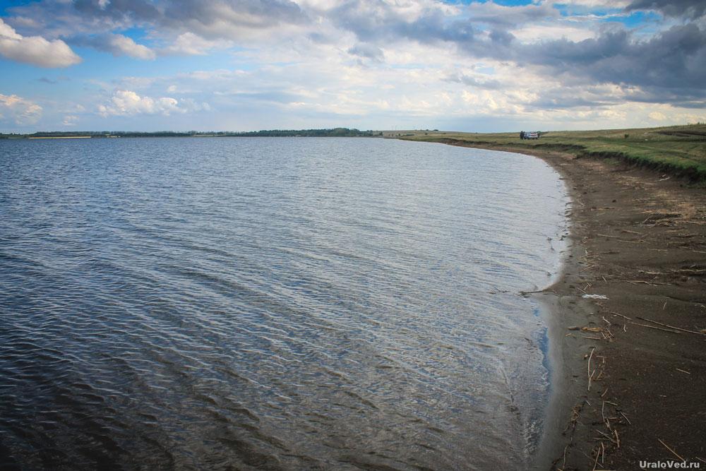 На берегу озера Мулдаккуль