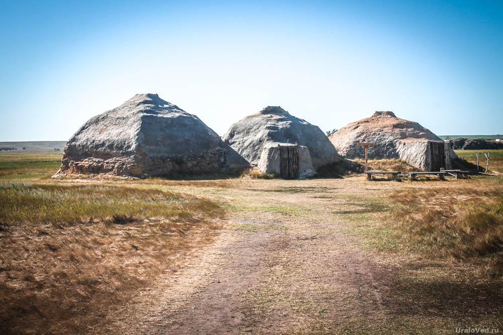 Жилища медно-каменного века