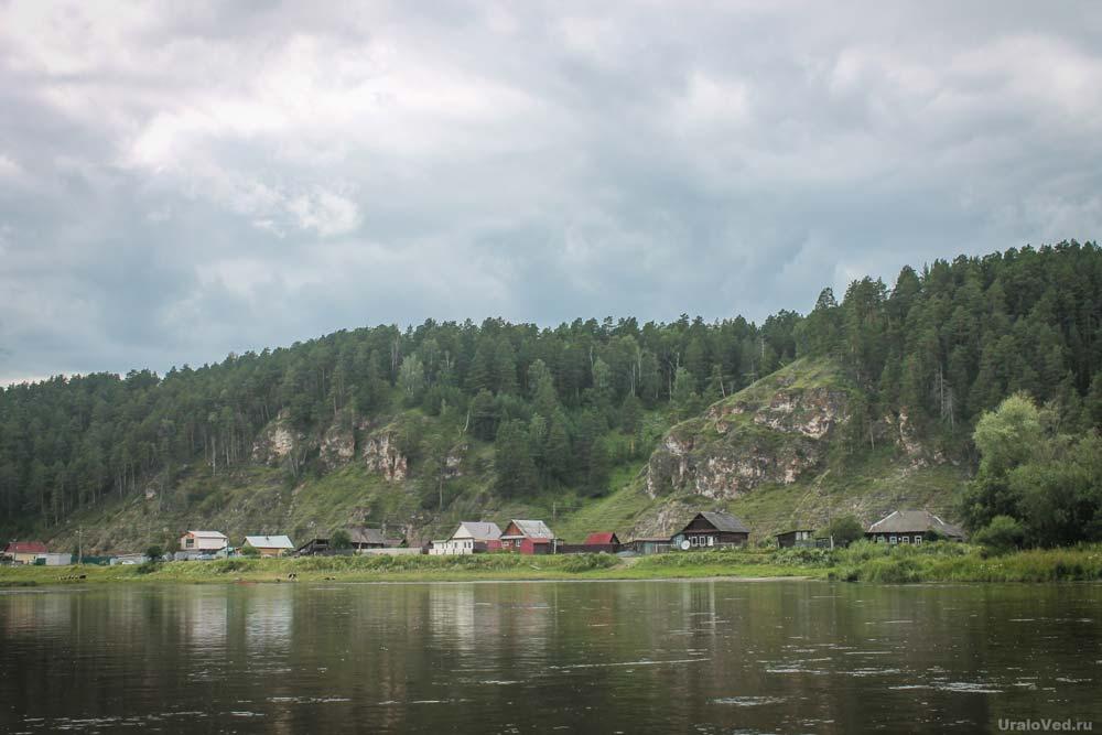 Деревня Старая Пристань