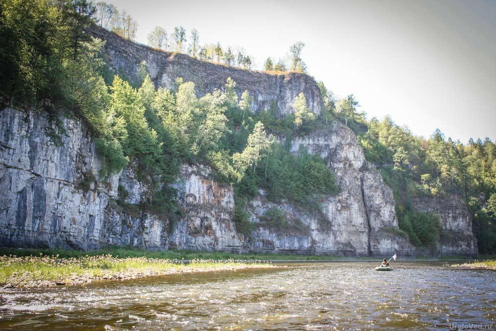 Малые Притесы на реке Ай