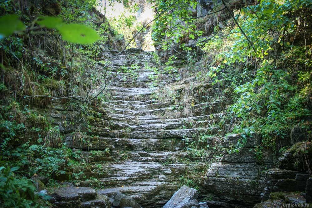 Сухие (Алексеевские) водопады