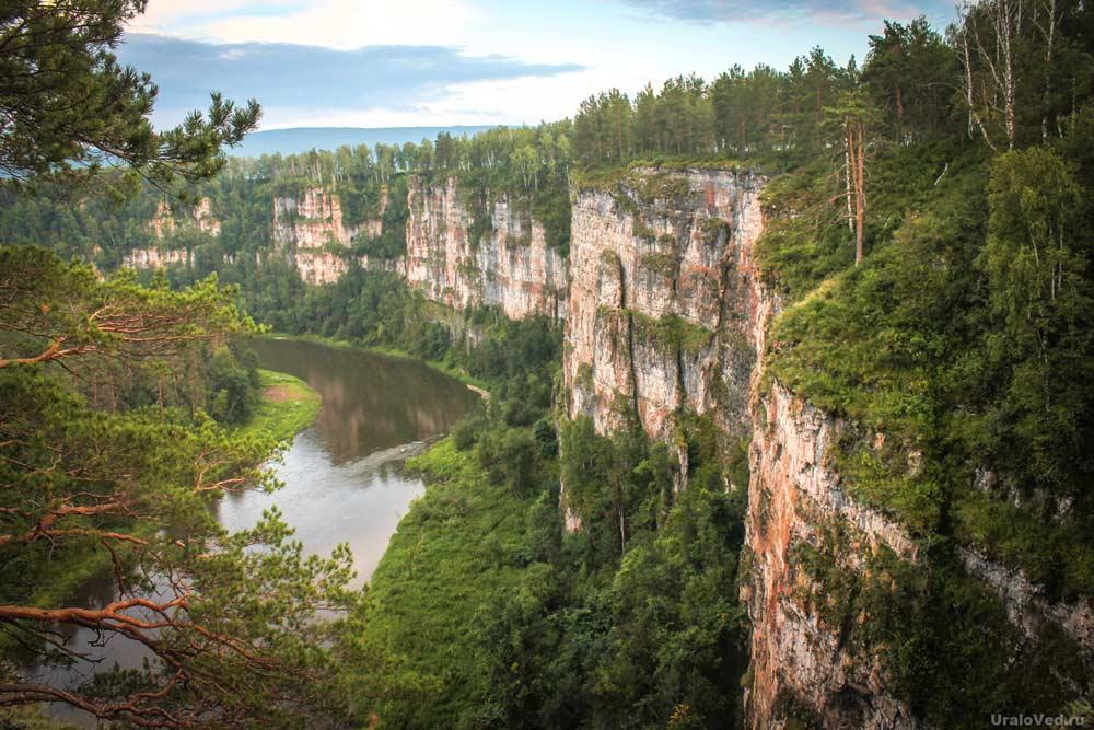 Большие Притесы реки Ай