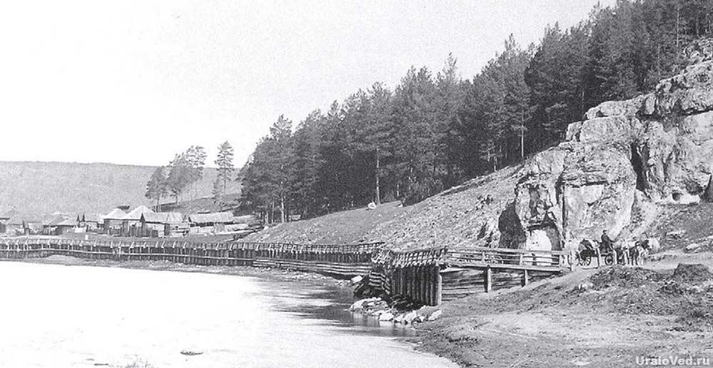 Саткинская пристань на реке Ай