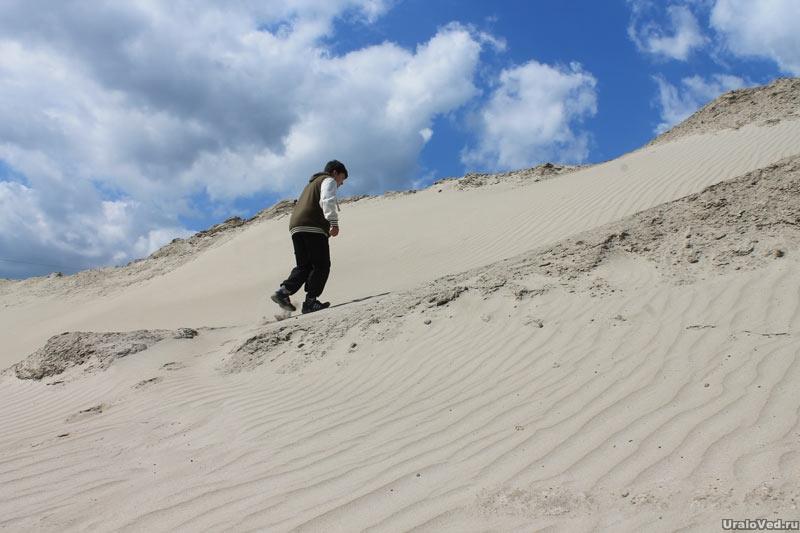 Пустыня около Тайгинки, Челябинская область