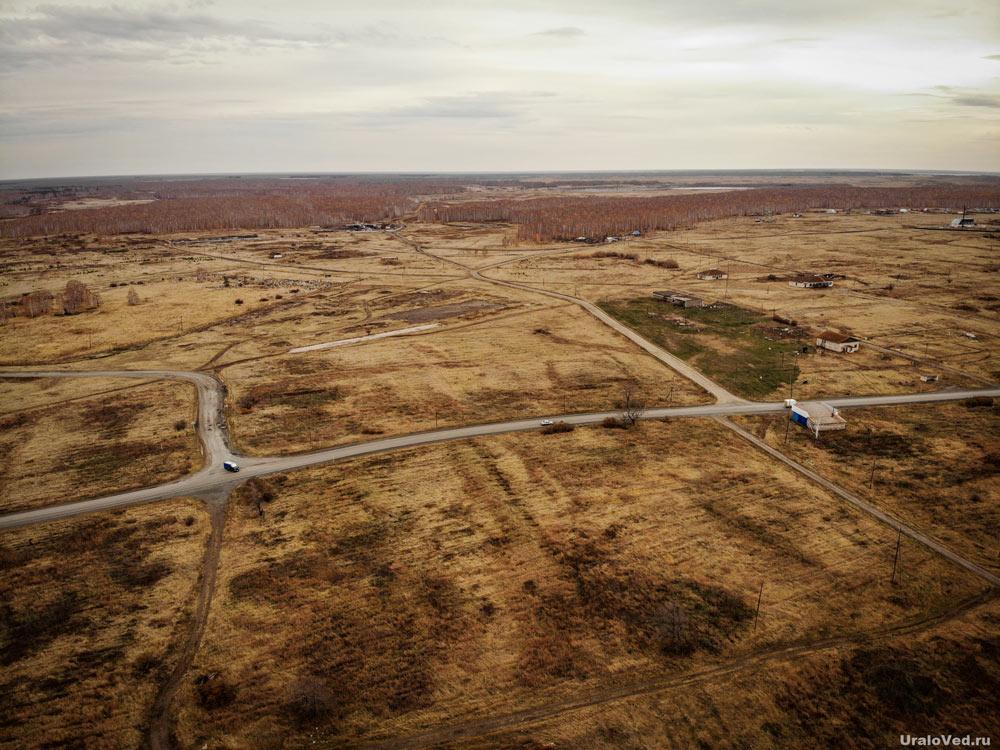 Территория отселённого посёлка Муслюмово