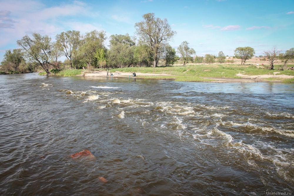 Река Теча в Курганской области