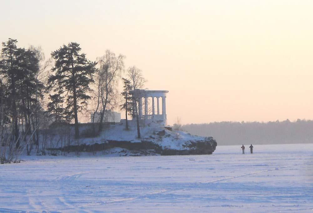 Беседка Курчатова в Озерске