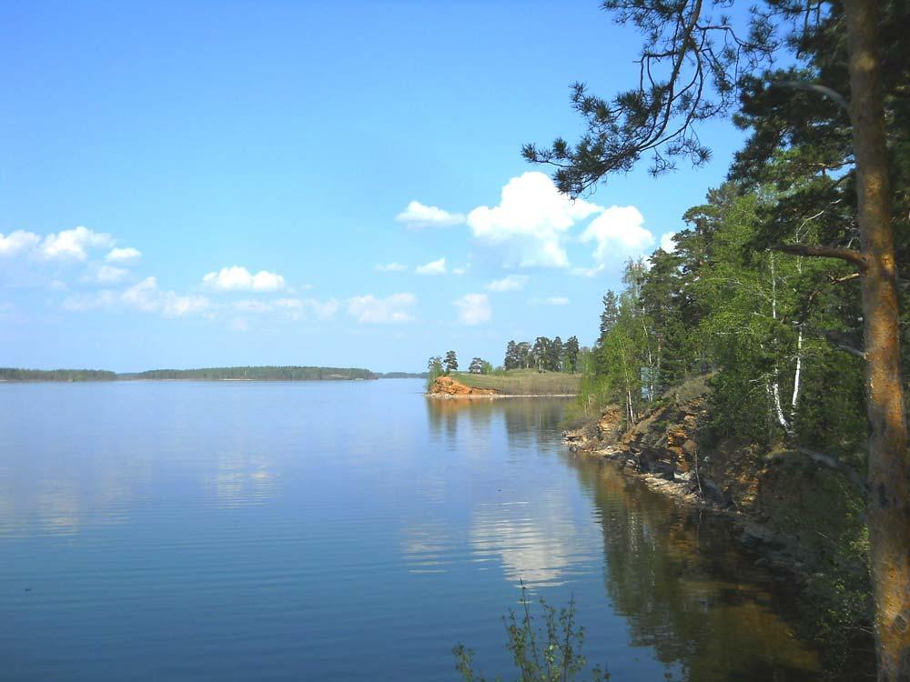 Летний день на озере Иртяш