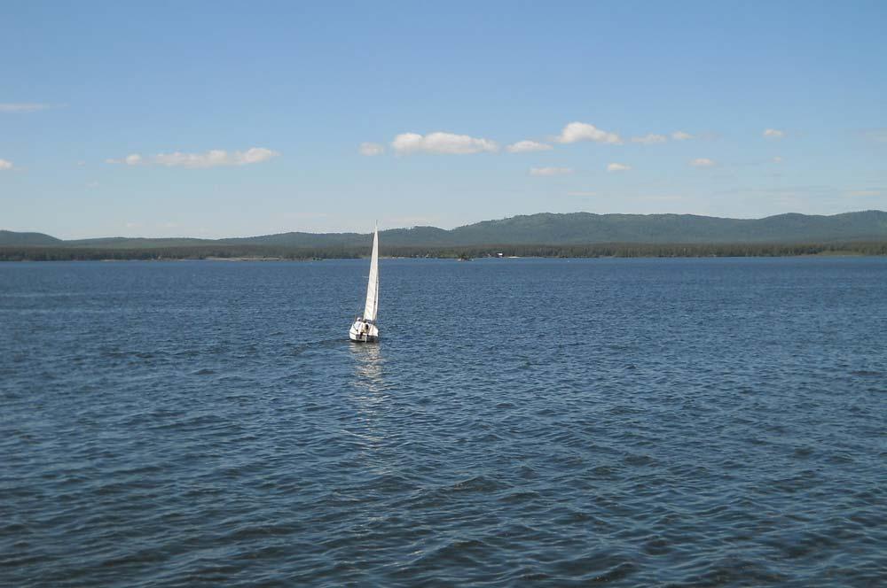 Озеро Иртяш летом