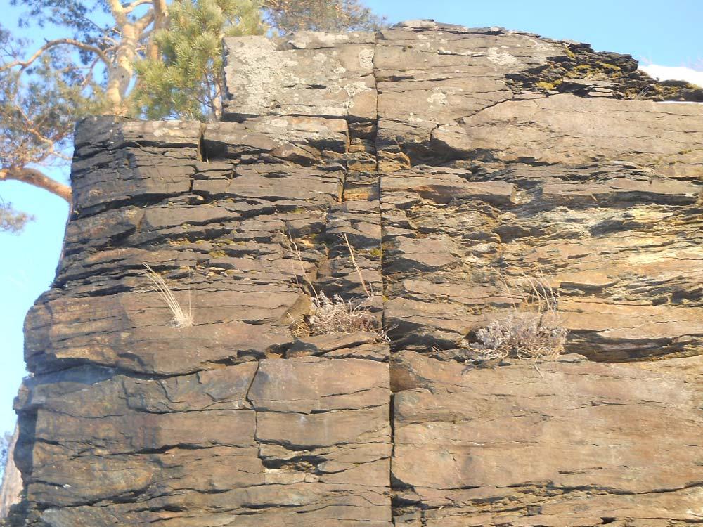 Скалы на Иртяше