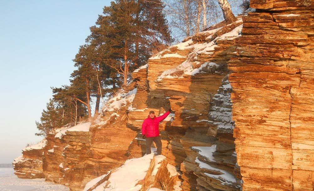 Скалы на озере Иртяш, Челябинская область