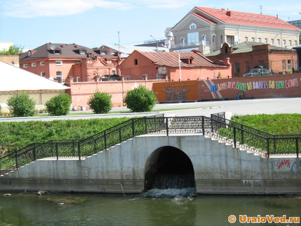 Схемы рек екатеринбурга