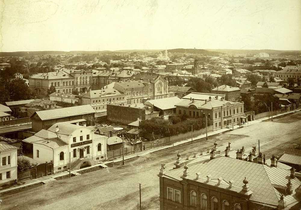 Улица Пушкинская до революции. Дом Дрозжилова