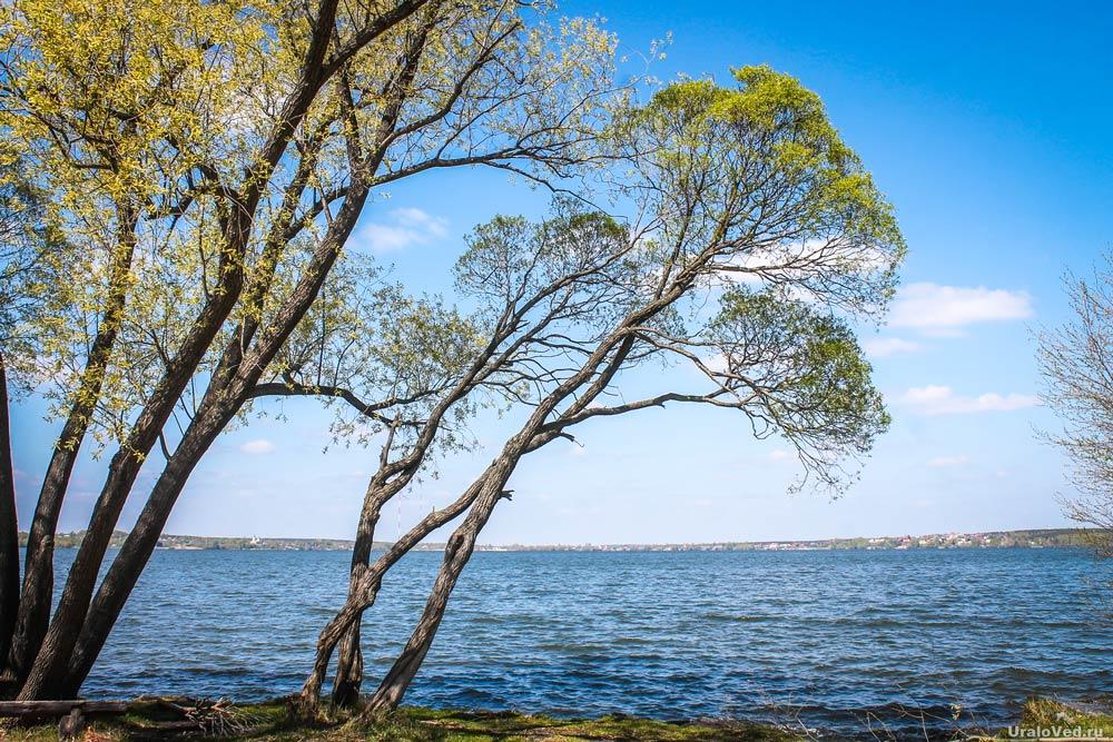 Озеро Шарташ в Екатеринбурге