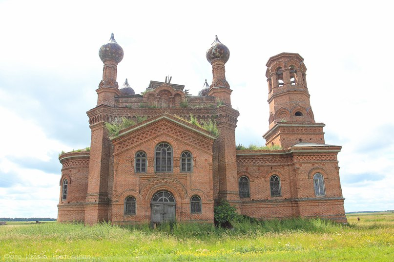 Церковь в селе Саламатовское