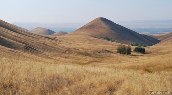 Северная часть Долгих гор. Граница хребтов