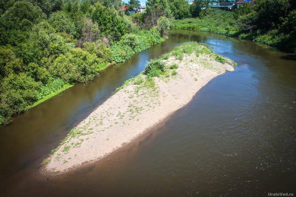 Река Урал в Верхнеуральске