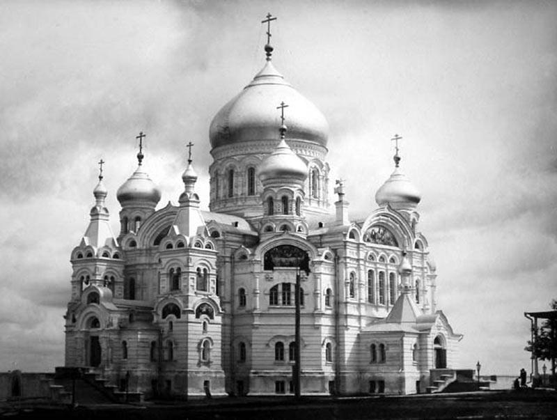 Крестовоздвиженский собор Белогорского монастыря. Архивное фото