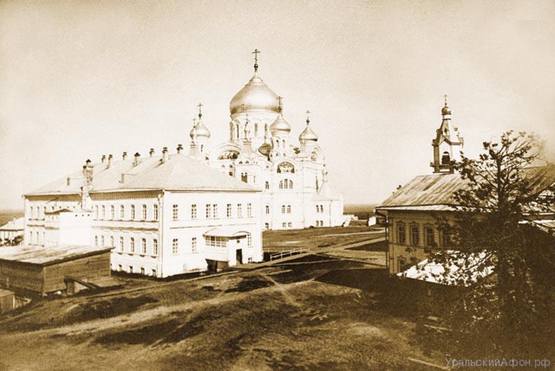 Белогорский монастырь. Старое фото