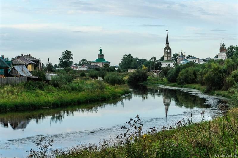 Соликамск и река Усолка