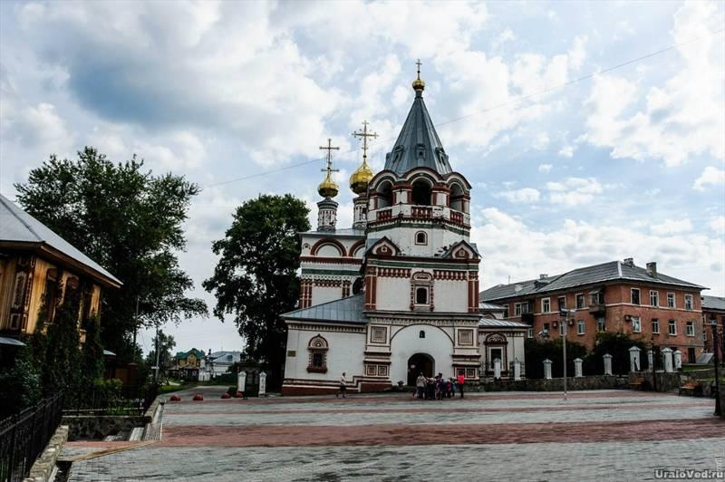 Богоявленская церковь Соликамска, Пермский край