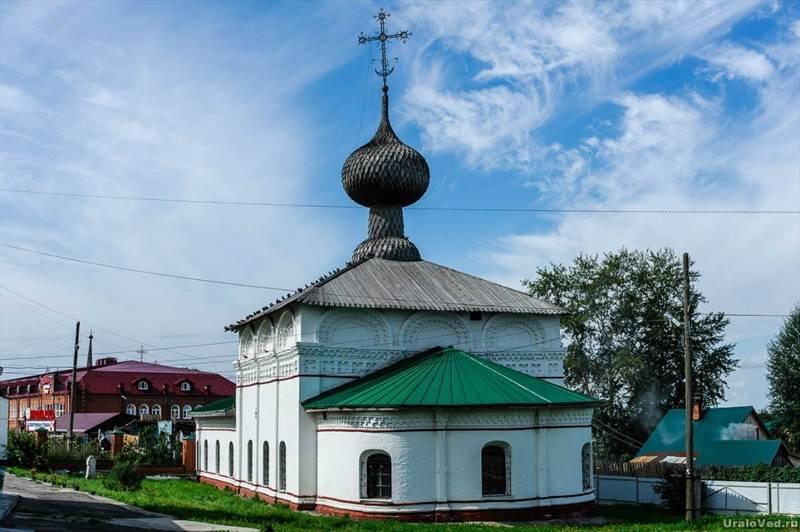Зимняя Введенская церковь