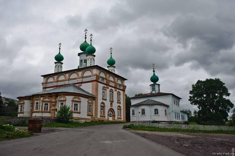 Спасская церковь Соликамска
