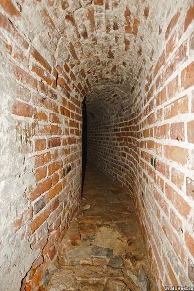 Подземный ход в доме воеводы Соликамска