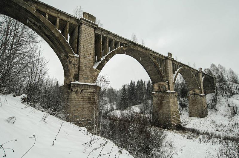 Виадук в Пермском крае
