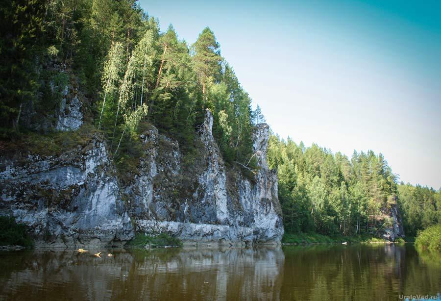 Камень Гребешки, Шалинский район Свердловской области