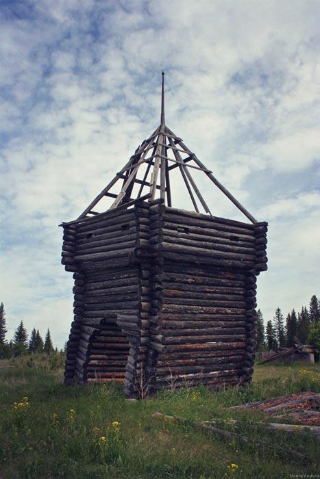 Декорации со съемок фильмов в Каменке на Чусовой