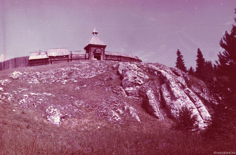 Крепость в деревне Каменка на Чусовой. Фото Александра Мишенко