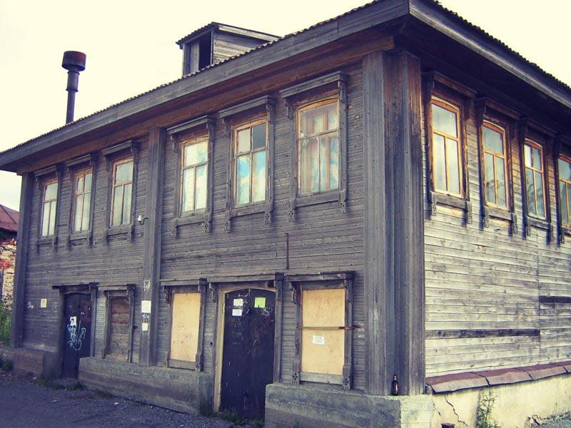 Старый дом в Каменке