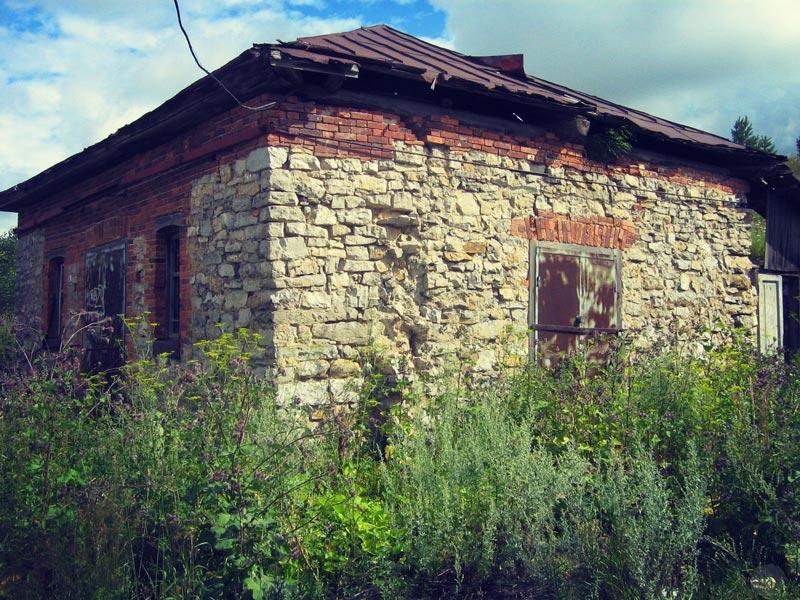 Амбар в деревне Каменка