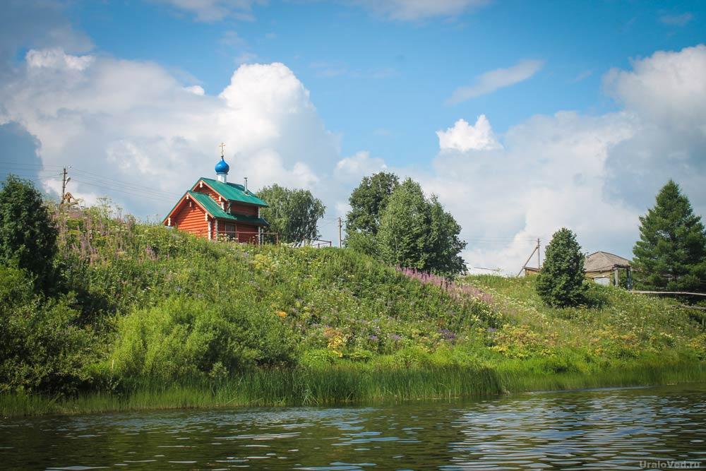 Часовня в деревне Мартьянова