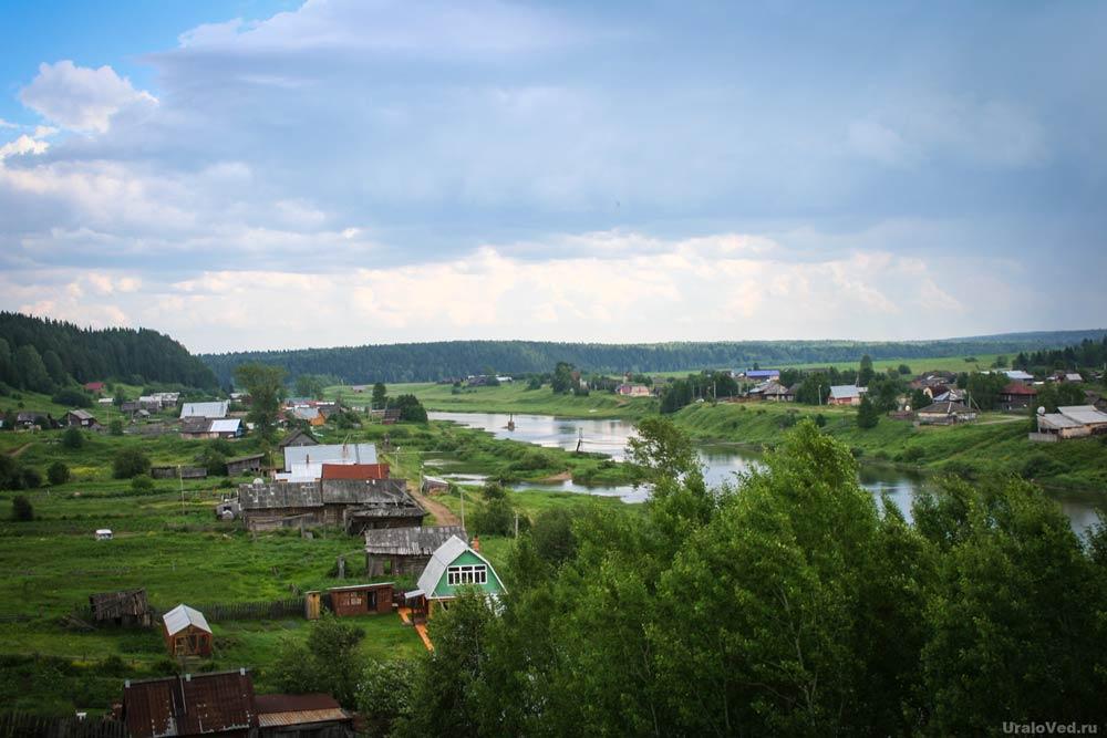Деревня Мартьянова