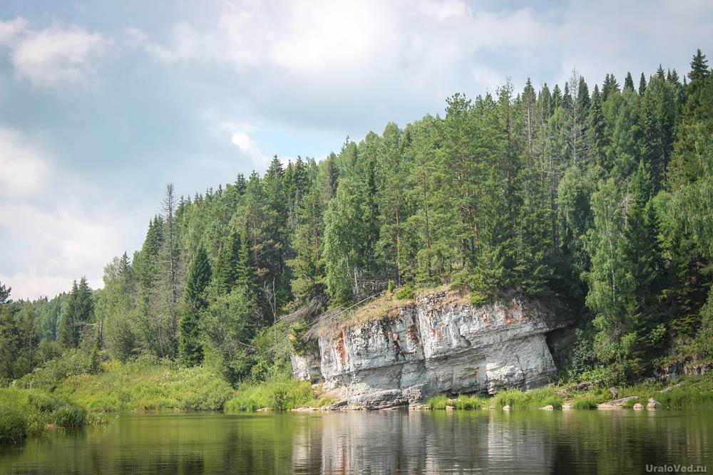 Камень Палатка в Мартьянова