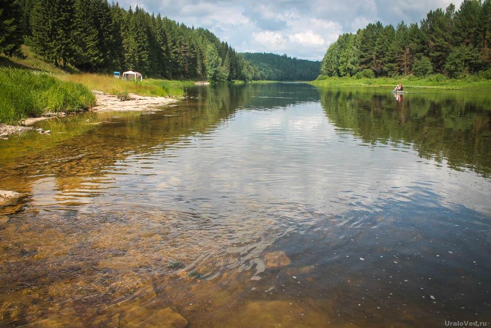 Река Чусовая около Каменки