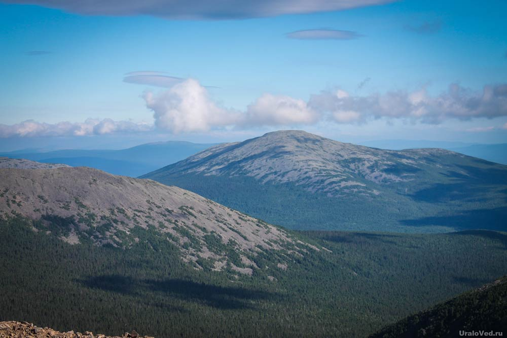 сколько горы занимают