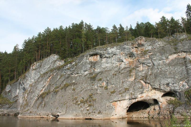 Река Серга, Карстовый мост