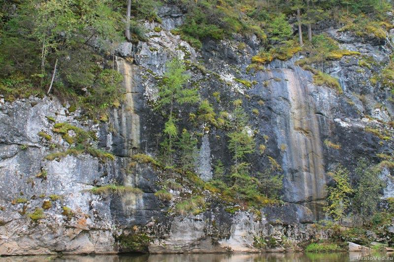 Скала Водопадная