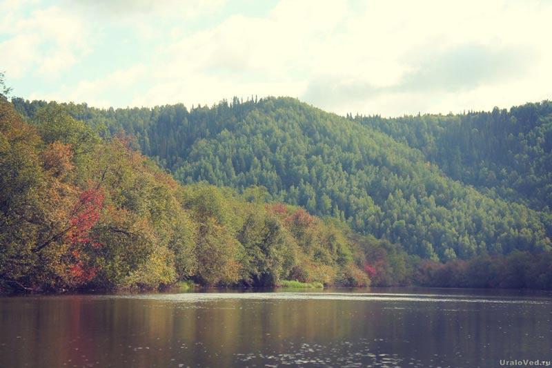 Гора Орлова на реке Серге