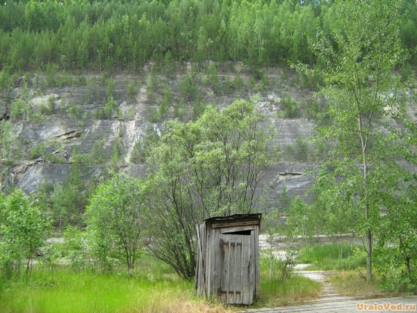Туалет в Старой Линзе