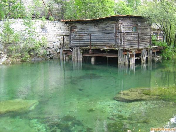 Озеро в Старой Линзе, окрестности Екатеринбурга