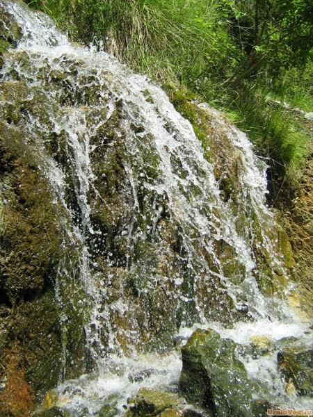 Водопад в Старой Линзе
