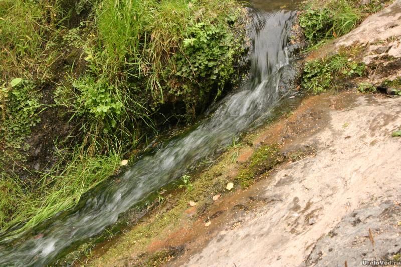 Водопад Шата летом
